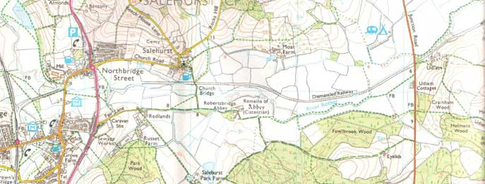 Rother Valley Railway Maps